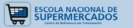 Cursos EAD gratuitos: Escola Nacional de Supermercados - Logo