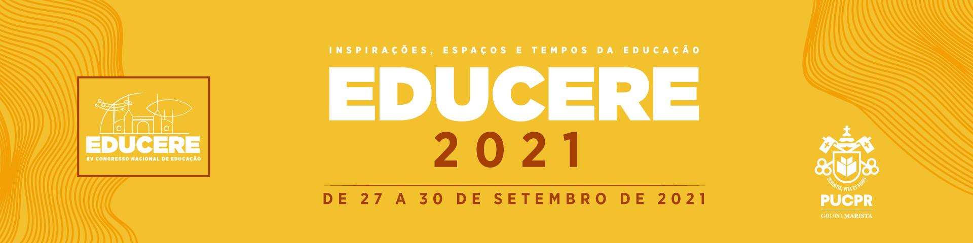Banner - EDUCERE - Congresso Nacional de Educação