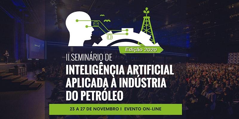 Banner - II Seminário de Inteligência Artificial Aplicada à Indústria do Petróleo