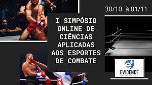 Banner - I Simpósio Online de Ciências aplicadas aos Esportes de Combate