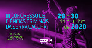 Banner - 3º Congresso de Ciências Criminais da Serra Gaúcha