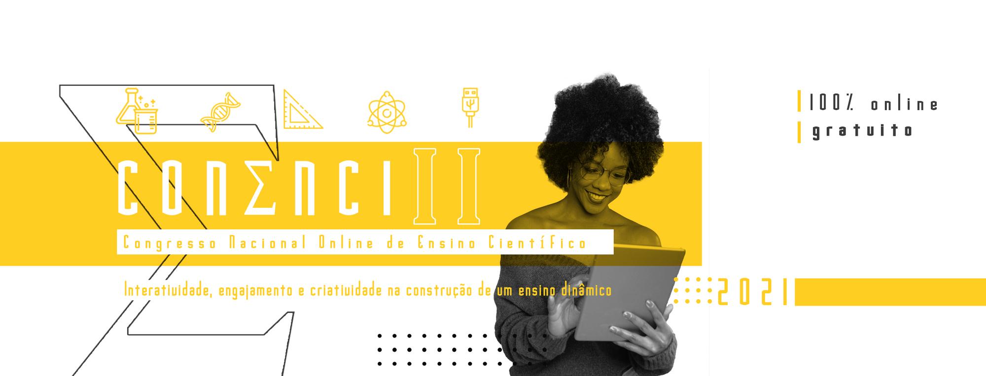 Banner - II CONENCI - Congresso Nacional de Ensino Científico