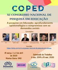 Banner - XII CONGRESSO NACIONAL DE PESQUISA EM EDUCAÇÃO - COPED-