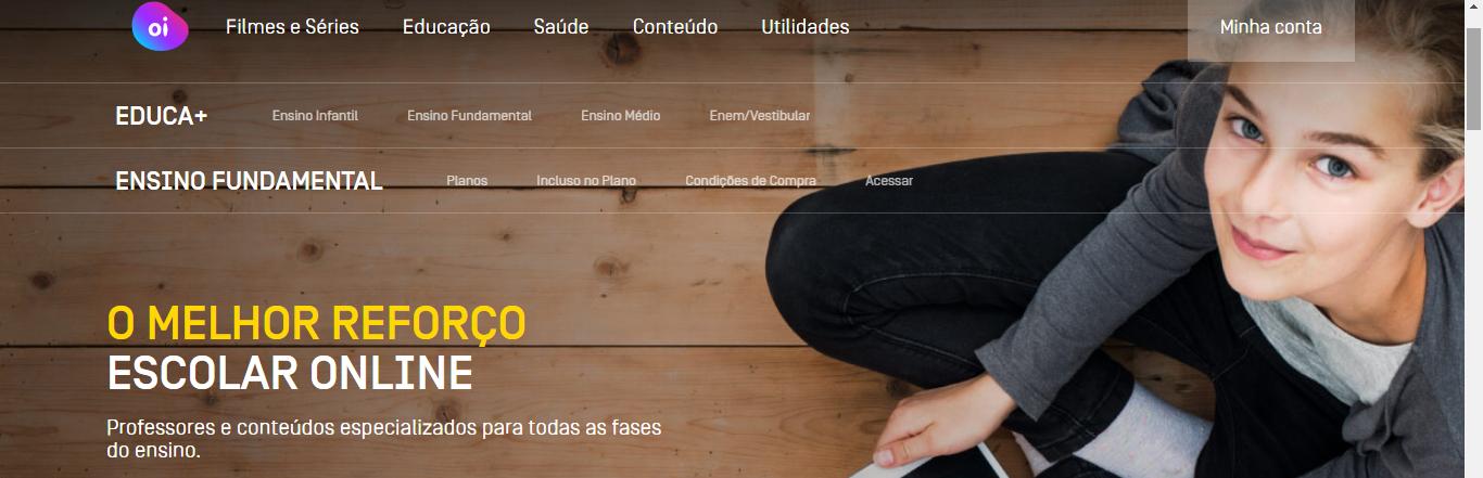 Preparatório ENEM online: OI Educa + - Imagem 1
