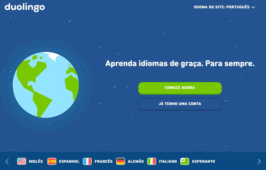 Cursos EAD gratuitos: Duolingo - Imagem 2