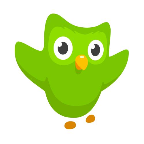 Cursos EAD gratuitos: Duolingo - Logo
