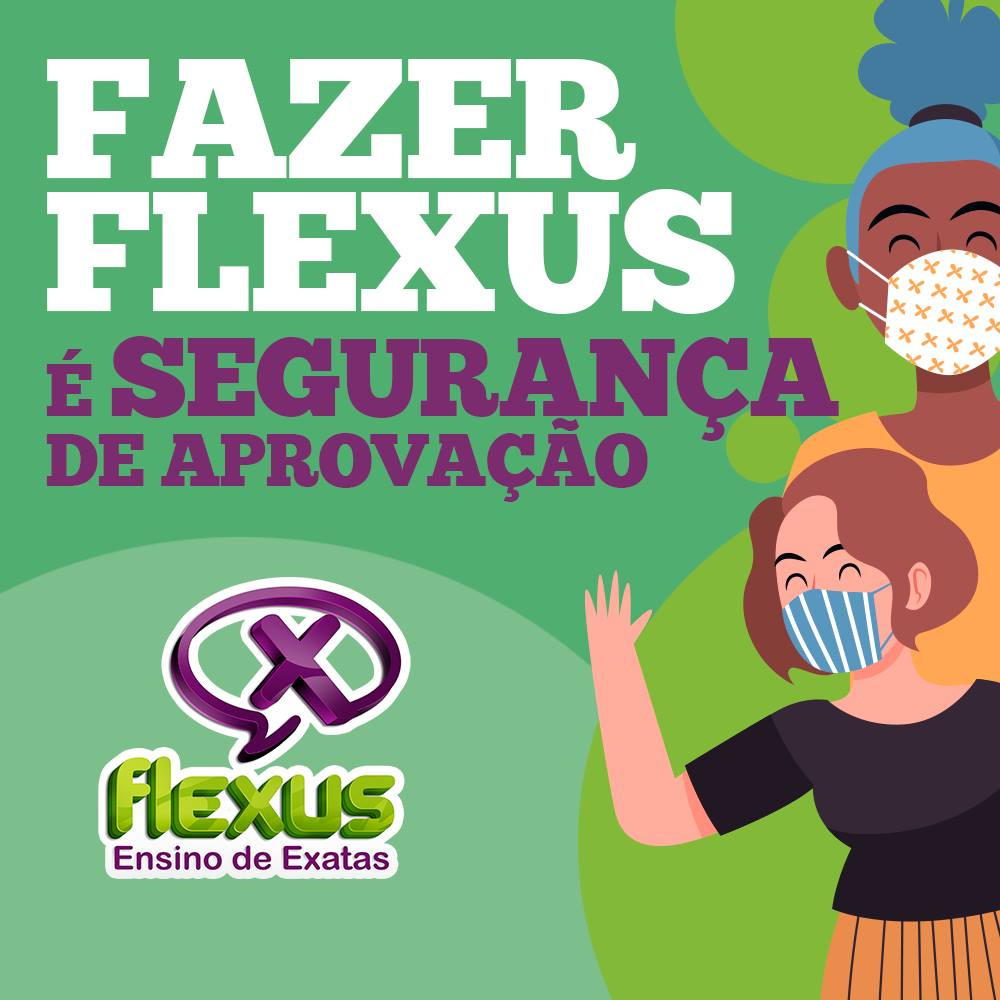 Preparatório ENEM online: Flexus Ensino de Exatas - Imagem 1