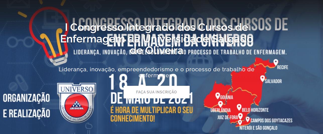 Banner - I Congresso Integrado dos Cursos de Enfermagem da Universidade Salgado de Oliveira