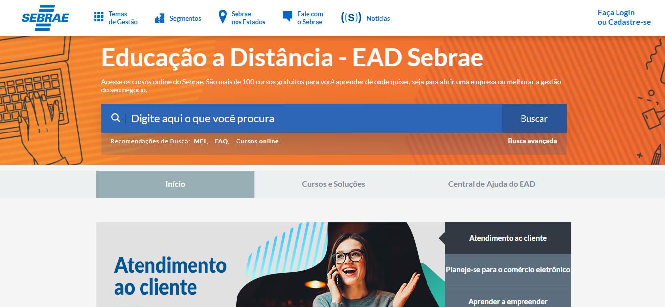 Cursos EAD gratuitos: EAD Sebrae - Imagem 2