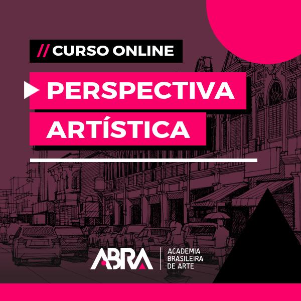 Banner - Curso de Perspectiva Artística