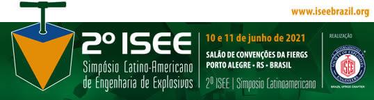 Banner - 2º ISEE - Simpósio Latino-Americano de Engenharia de Explosivos