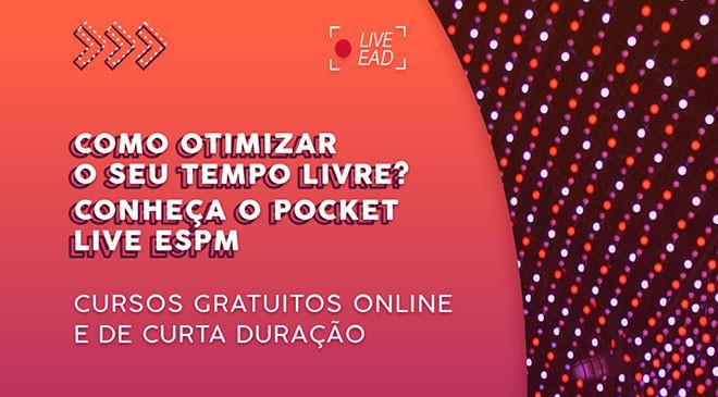 Cursos EAD gratuitos: Pocket Live ESPM - Imagem 3