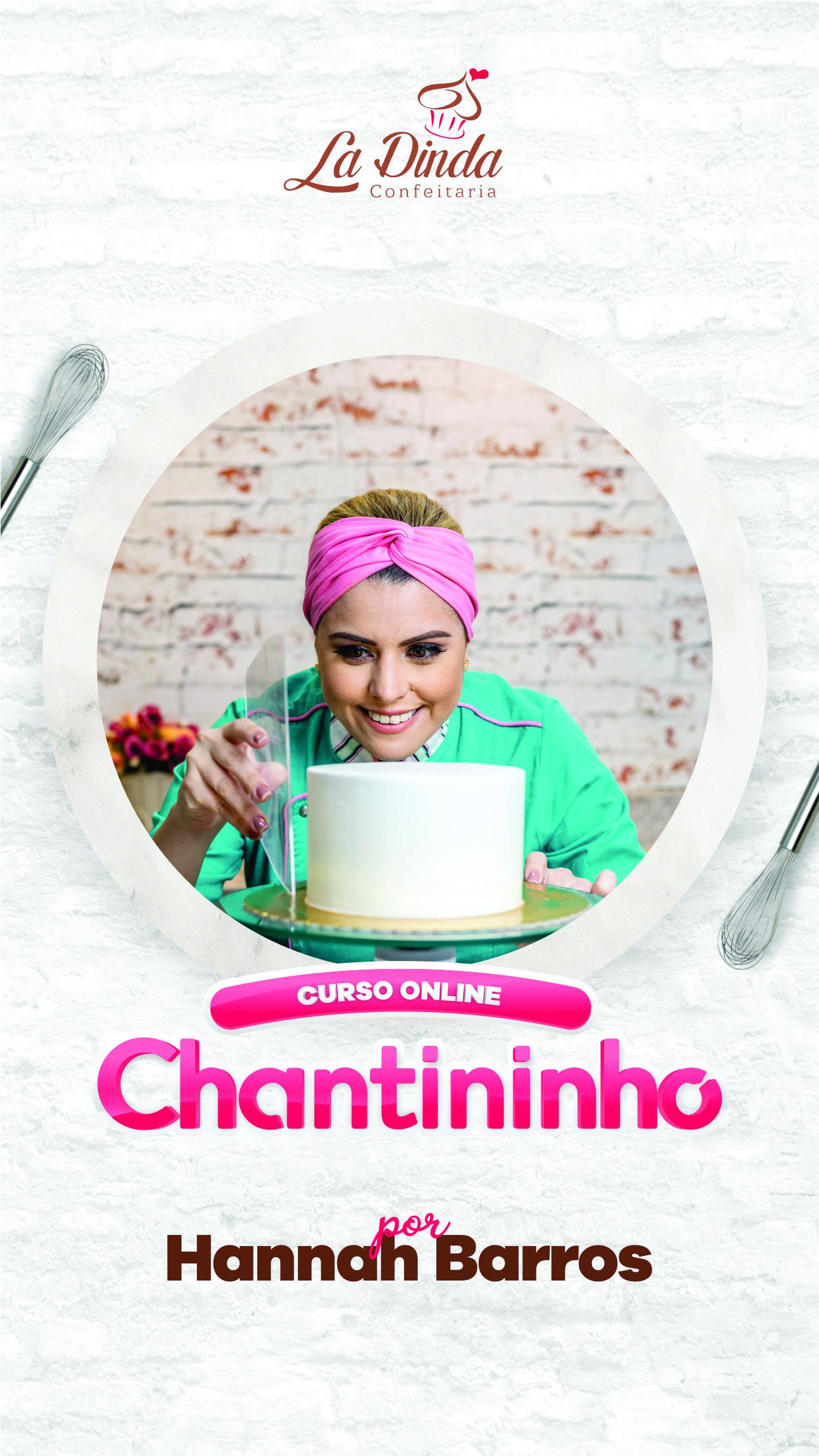 Banner - Curso de Bolos em Chantininho