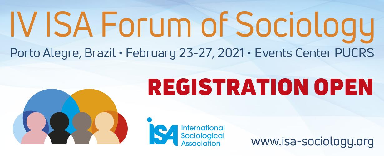Banner - IV ISA Forum of Sociology 2020