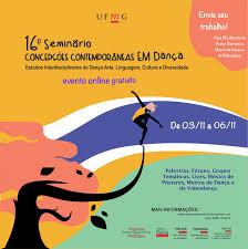 Banner - 16º SEMINÁRIO INTERNACIONAL CONCEPÇÕES CONTEMPORÂNEAS EM DANÇA