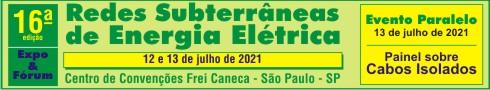 Banner - REDES SUBTERRÂNEAS DE ENERGIA ELÉTRICA – 2021